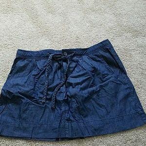 Old Navy denim mini skirt